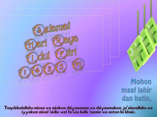 Selamat Idul Fitri 1435 H
