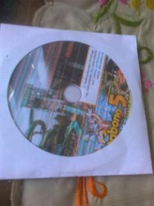 Hadiah dari stand Purbalingga, cd Owabong, sayangnya sudah pernah kesitu :3
