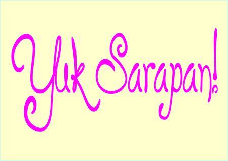 Yuk, Sarapan!